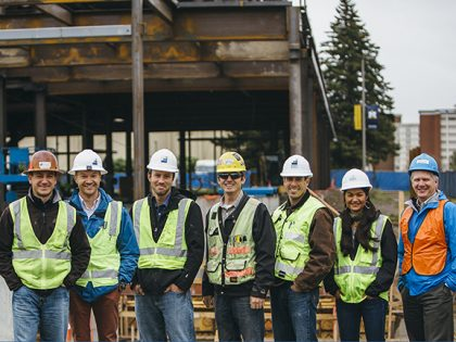 Morrison-Maierle's Bozeman office structural engineering team